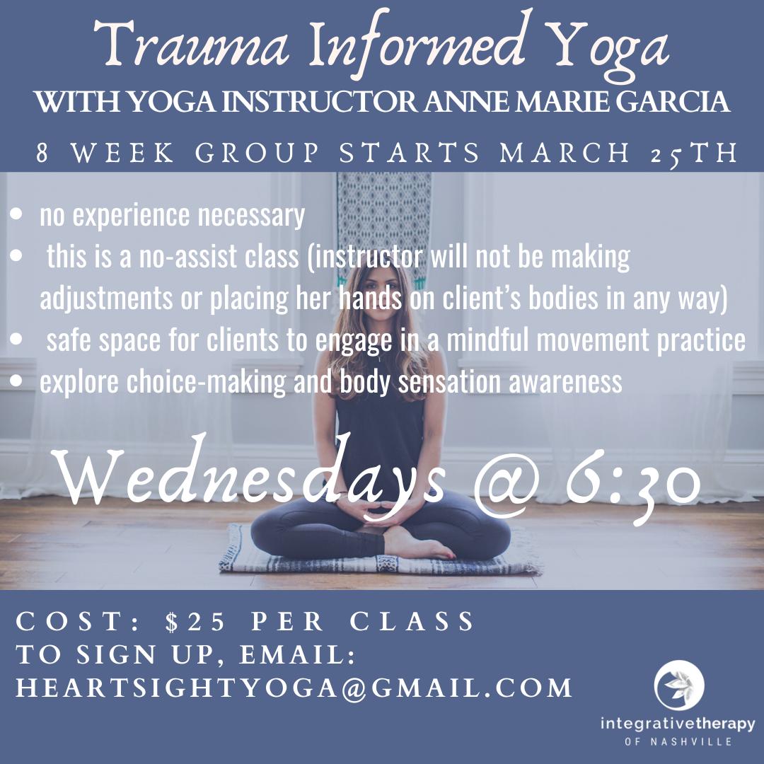 Trauma Informed Yoga Integrative Therapy Of Nashville